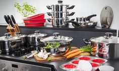Groupon - Morphy Richards Stainless Steel Kitchen Set for £129.98 With Free Delivery (52% Off) in [missing {{location}} value]. Groupon deal price: £129.98