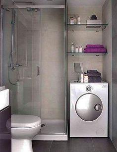Aprovechar el espacio en baños pequeños