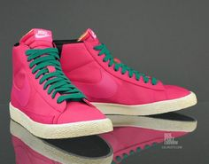 With The Right Outfit....Yessss!!! Nike Blazer High VNTG 'Voltage Cherry/Lush Teal-Black'