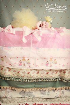 Baby Girl Tutu  Infant Toddler 6 Tutu  Sewn Yellow by TiarasTutus, $26.00