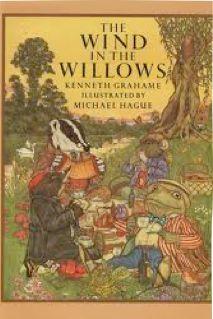- Capa com ilustração de Michael Hague para The Wind in the Willows - O Vento nos Salgueiros, do escritor inglês Kenneth Grahame.