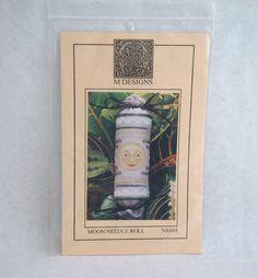 Rare Moon Needle Roll Cross Stitch Pattern by M Designs by NeedANeedle, $7.75