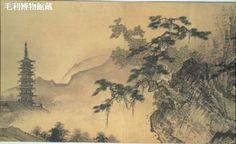雪舟-四季山水図(山水長巻)