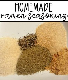 Did you know that you can make homemade ramen seasoning with spices you probably already have on hand? This homemade ramen seasoning recipe is easy to make and is so yummy! #recipe #homemadespicemix #DIYspices