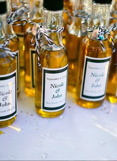 Your guests will be pleasantly surprised by these wedding favors.