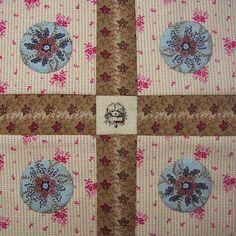 Stonefields quilt van Susan Smith gemaakt door Jane van JANE'S THREADS AND TREASURES (http://janesthreads.blogspot.nl/)