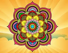 Resultado de imagem para mandalas coloridas Mandalas Painting, Mandalas Drawing, Mandala Design, Arte Sharpie, Mandala Art Lesson, Mandala Coloring, Rangoli Designs, Pin Up Art, Indian Art