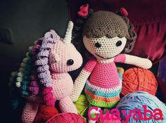 #Guayaba #tejidos #colores #handmade #unicornio
