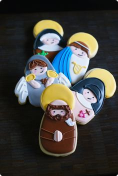 all saints day cookies ♥  #catholic #saints #allsaintsday