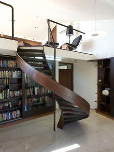 Home Decor Modern Staircase. 階段のインテリアコーディネイト実例