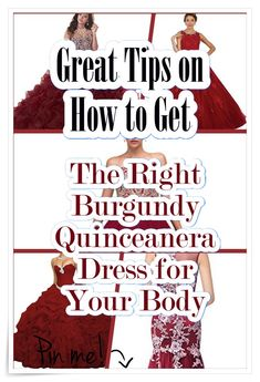 See extra ideas about Burgundy Quinceanera {dresses Burgundy Quinceanera Dresses, Quince Dresses, Cute Dresses, How To Memorize Things, Gowns, Ideas, Pretty Dresses, Vestidos, Dresses