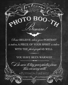 Hey, I found this really awesome Etsy listing at https://www.etsy.com/listing/248015720/chalkboard-photo-booth-printable-sign