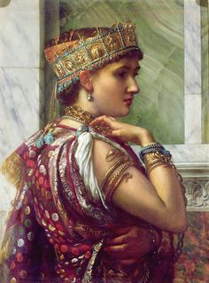 Zenobia Captive (1878), Sir Edward Poynter (mirror of original image)