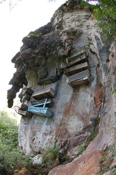 Hanging coffins of Sagada like on Destination Truth!