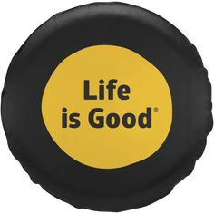 Life is Good Tire Cover|Life is Good