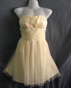 Romance Ruffle Party Dress  Honey Bridesmaid Dress  by midress, $45.00