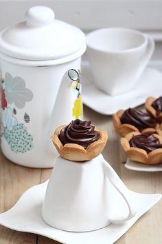 Délices d'Orient: Épisode 2/3 tartelettes ganache chocolat