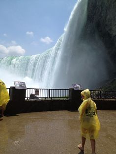 Niagara Falls Canada -- Journey behind the Falls