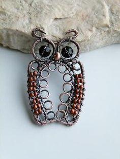 Awesome owl wirework! by mavrica