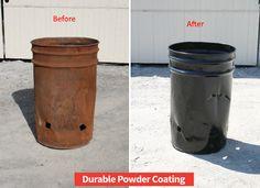 Powder Coated Black| Durable Powder Coating