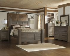 ashley furniture bedroom sets queen of vintage bed frames from grey     Santa Cruz Bedroom Suite  Cheap Queen