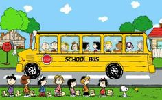 Back to School for Charlie Brown, Snoopy and the Peanuts Gang.