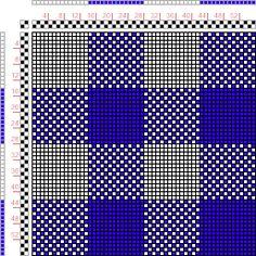draft image: Gestreifte und Karierte Muster Pl. II Nr. 7, Die färbige Gewebemusterung, Franz Donat, 2S, 2T