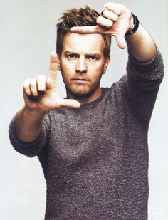 Ewan McGregor. Why hello good sir ...