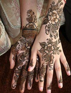 Mehndi Henna design