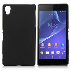 Zwart TPU hoesje voor Sony Xperia Z2