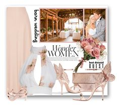 """""""Barn Wedding-Best Dressed Guest"""" by samketina ❤ liked on Polyvore featuring St. John, The Row, Clare V., Sophia Webster, Yves Saint Laurent, bestdressedguest and barnwedding"""