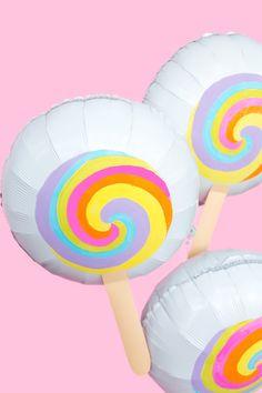 DIY Lollipop Balloon