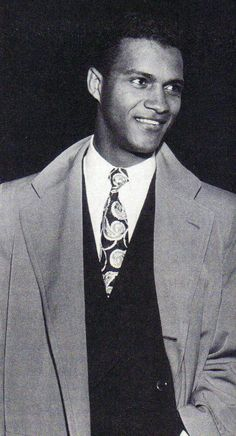 """1950's Black Hollywood Heartthrob, James Edwards (1918-70) The tall, handsome and athletic Edwards eventually ended up in New York, where he made his debut in 1945 in the play """"Deep are the Roots,"""" in which his character has an interracial love affair. He made his film debut in a small role in 1949's """"The Set-Up"""" before """"Home of the Brave."""""""