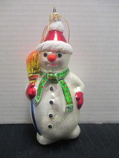 Kurt Adler Polonaise Snowman Christmas Ornament Handcrafted By Komozja