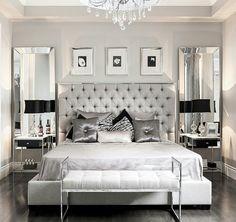 Upscale Luxury Master Bedroom