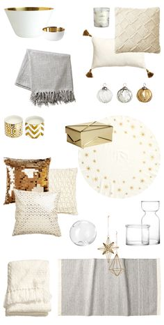Accessori dorati da H&M HOME http://viavinci9.blogspot.it/2014/11/accessori-dorati-da-h-home.html