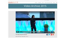 """http://rootstech.org/video/4050134760001 RootsTech 2015 Keynote - if you're interested in the War of 1812 project, """"My Story"""" at Family Search or """"My Heritage"""" web site, start at the beginning.  But I suggest you listen to the powerful story that Ms. Tan Le shares of her journey from the boat that left war-torn Vietnam to her founding of the tech company Emotiv - move time marker to about 59:25; """"You are a continuation of your Ancestors"""" from RootsTech -pmp, UCPL"""