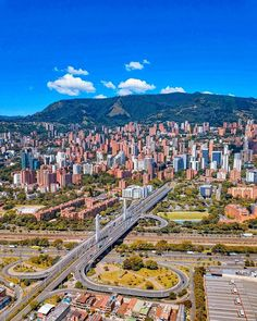 Feel the good vibes the innovative city of Medellín gives off. of a city that is among the top 10 places . Innovative City, Aerial Footage, Colombia Travel, Top Travel Destinations, Countries Around The World, South America Travel, Holiday Travel, Travel Photos, City Photo