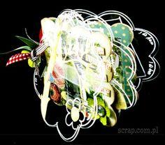 album akrylowy od Mirabeel w kształcie kwiatka