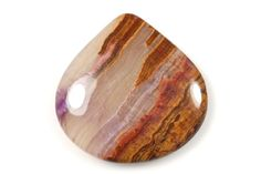 Purple Lace Agate cabochon by Fabby Dabby Stones on Etsy