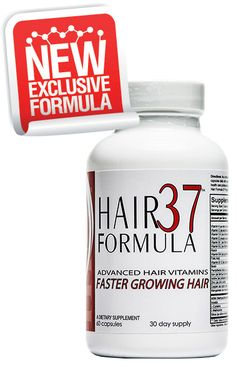 New Advanced - Hair Formula 37 - hair vitamins that will make your hair grow faster, stronger, healthier, and thicker. see - www.hairformula37.com