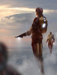 Iron Men by Damian Audino