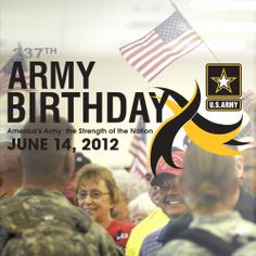 Happy Birthday, US Army! For 237 years, the American Soldier has been the strength of our nation.