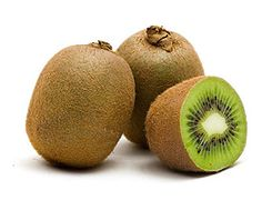 """Kiwi: Though native to China, this brown, egg-shaped fruit is so named because it was first commercially grown in New Zealand. Beneath its furry skin lies brilliant green or gold flesh studded with tiny, crunchy black seeds. Its flavor is """"sweet-tart"""" and """"berrylike,"""" and it has a """"firm but juicy"""" texture. Kiwis will ripen at room temperature and can be refrigerated for up to three weeks."""