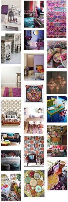 Moroccan Decor ~ Just So Lovely