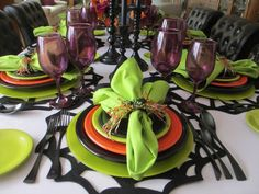 The Welcomed Guest: Halloween Table