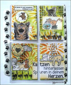 Cats Pocket Letter - Arts by Tini