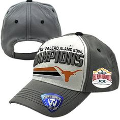 Top of the World Texas Longhorns 2012 Alamo Bowl Champions Adjustable Hat!