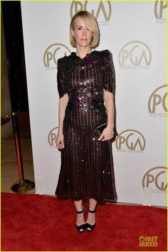 Sarah Paulson & Gillian Anderson - Producers Guild Awards 2014 | sarah paulson gillian anderson producers guild awards 2014 01 - Photo