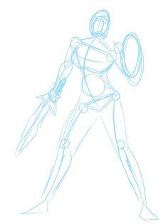 Cassandra from Soul Calibur 2 Fan Art [Process Drawing] — Steemit - Drawing Tutorials Drawing Flames, Shield Drawing, Drawing Base, Book Drawing, Sword Reference, Body Reference Drawing, Art Reference Poses, Anatomy Reference, Drawing Hair Tutorial